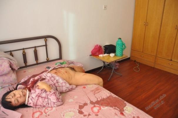 【レイプ遺体】中国の美人女性、自宅でレイプされた上にメッタ刺しにされた状態で発見される・・・・・(画像)・5枚目