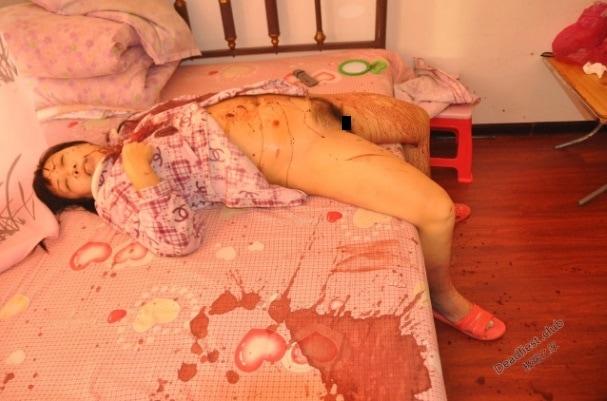 【レイプ遺体】中国の美人女性、自宅でレイプされた上にメッタ刺しにされた状態で発見される・・・・・(画像)・6枚目