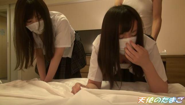 【動画】海外がドン引きする日本の女子二人組の援○映像がこれ。・11枚目