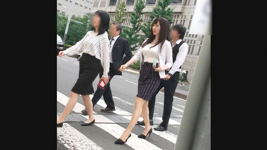 【働く女子セール(11/15昼まで)】Iカップの爆乳素人まんさん、男優とガチでセックスする映像・1枚目