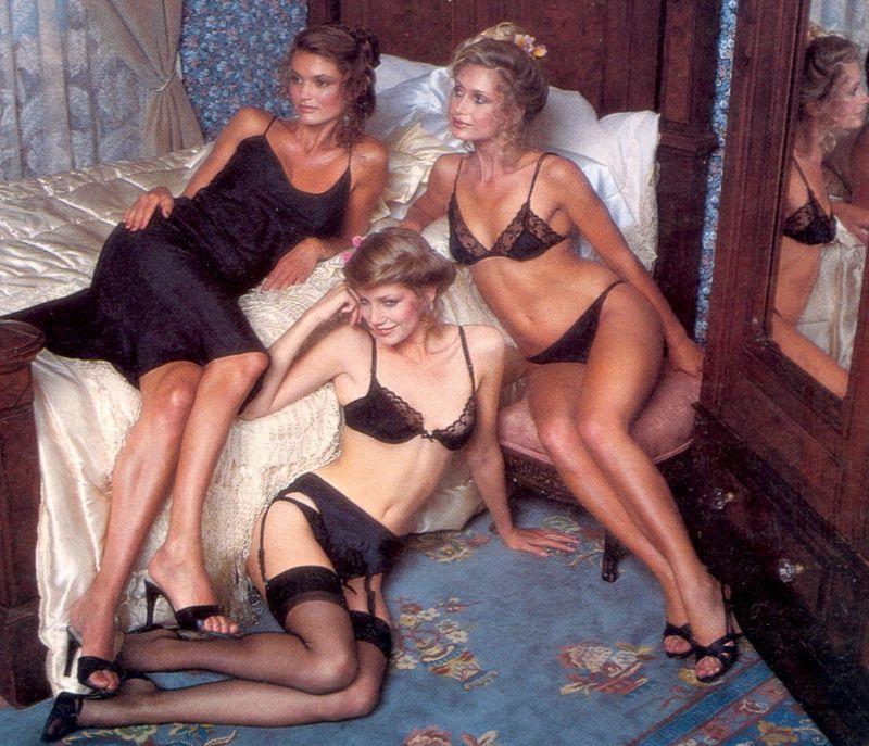 【超セクシー】今から40年前に発行されたヨーロッパ女性達のランジェリーカタログがエロ過ぎる!!・1枚目