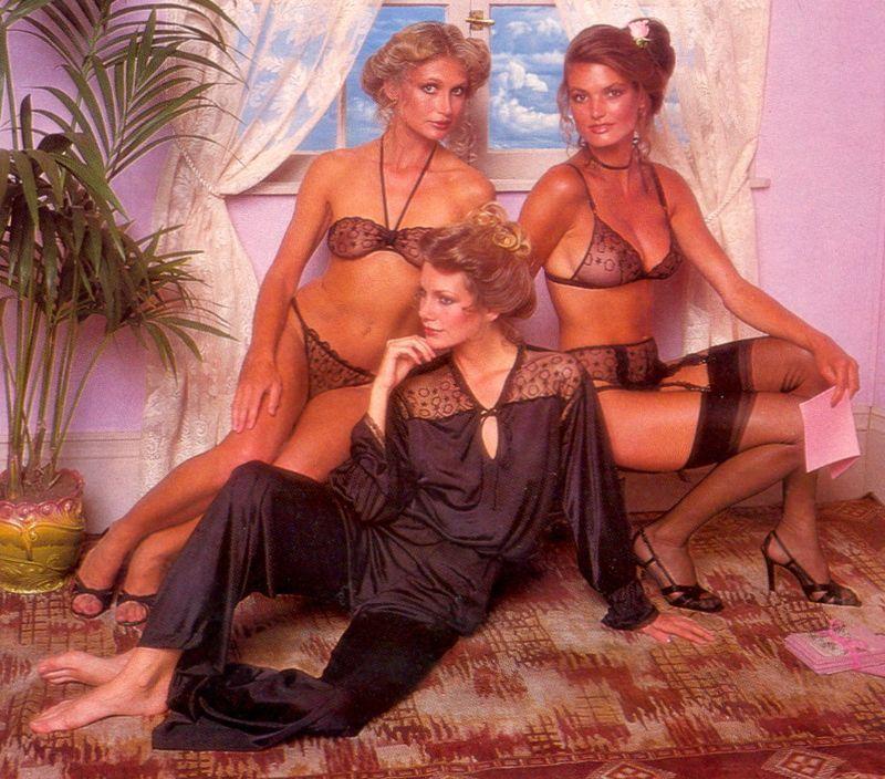 【超セクシー】今から40年前に発行されたヨーロッパ女性達のランジェリーカタログがエロ過ぎる!!・3枚目