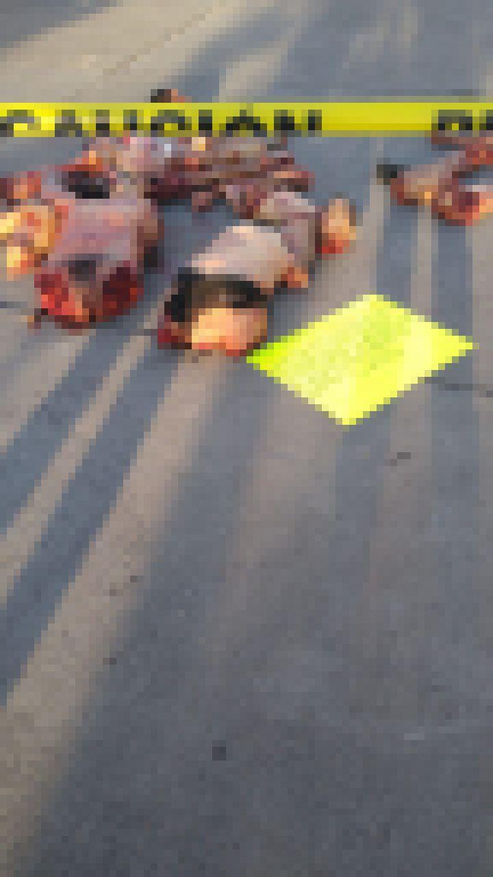 【超グロ注意】メキシコ ギャング同士の抗争で対立組織のメンバー4人がパズルのようにバラバラにされる・・・・・(画像)・2枚目