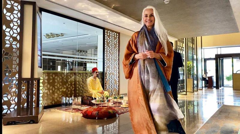 """【美人おばあちゃん】世界一美しい64歳と言われるフランス人モデル""""ヤゼミナ・ロッシ""""確かに美人だけど・・・・・14枚目"""