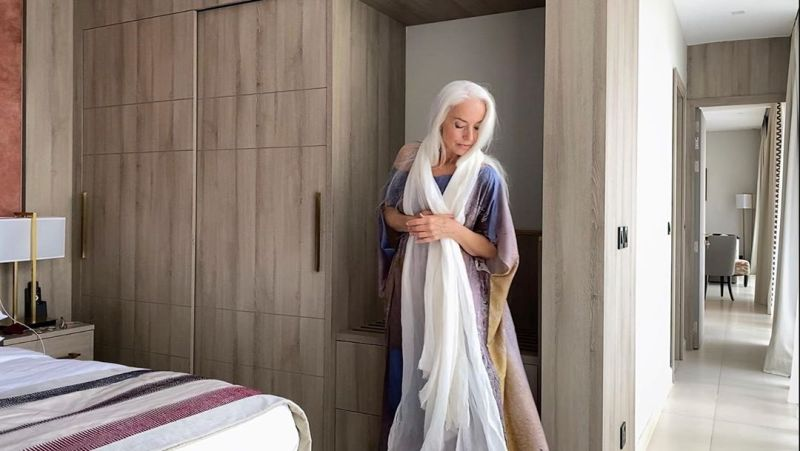 """【美人おばあちゃん】世界一美しい64歳と言われるフランス人モデル""""ヤゼミナ・ロッシ""""確かに美人だけど・・・・・20枚目"""