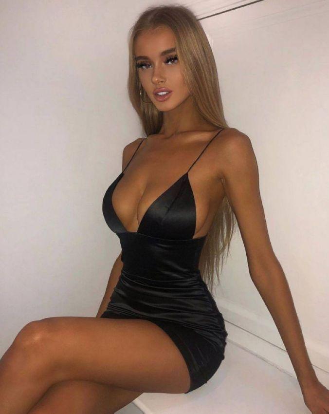 【二次】今海外の若い女性に人気なボディコンドレスのセクシー過ぎるエロ画像!!(画像あり)・27枚目