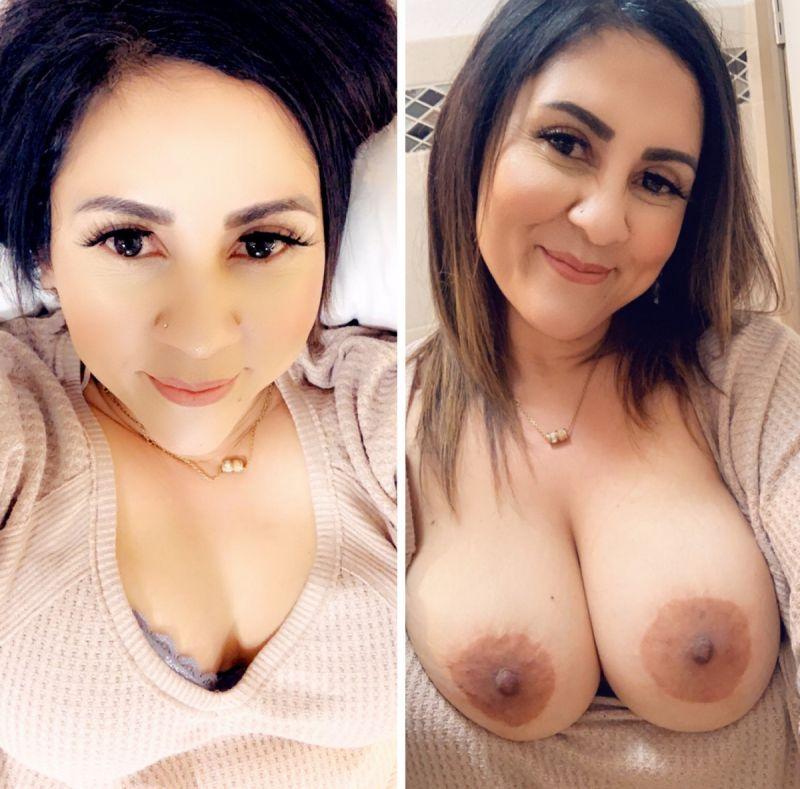 【リベンジポルノ】海外のヤリチンニキから流出した彼女の着衣ヌード比較画像、ただただエロい!!(画像あり)・21枚目