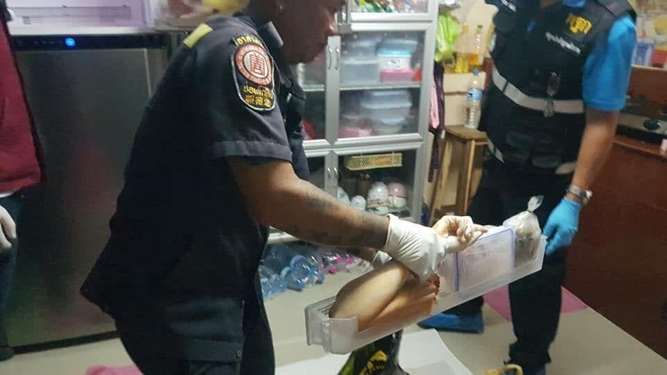 【グロ注意】タイの美魔女お母さん(42)、二十歳の息子にバラバラに解体され冷凍庫にブチ込まれる!!(画像)・5枚目