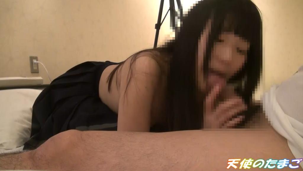 【日本援○】オッサン大好き女子○生のセックス動画。・19枚目