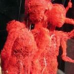 【恐怖画像】人体を無数に走る血管、ソレ以外を除去したら・・・・ホラー過ぎだろ!!(画像あり)