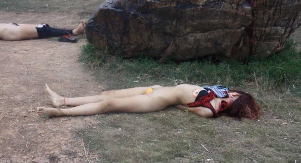 【閲覧注意】中国行方不明になった美少女、おっぱいとマンコが切除されたレイプ遺体となって発見される・・・・・(画像)・1枚目