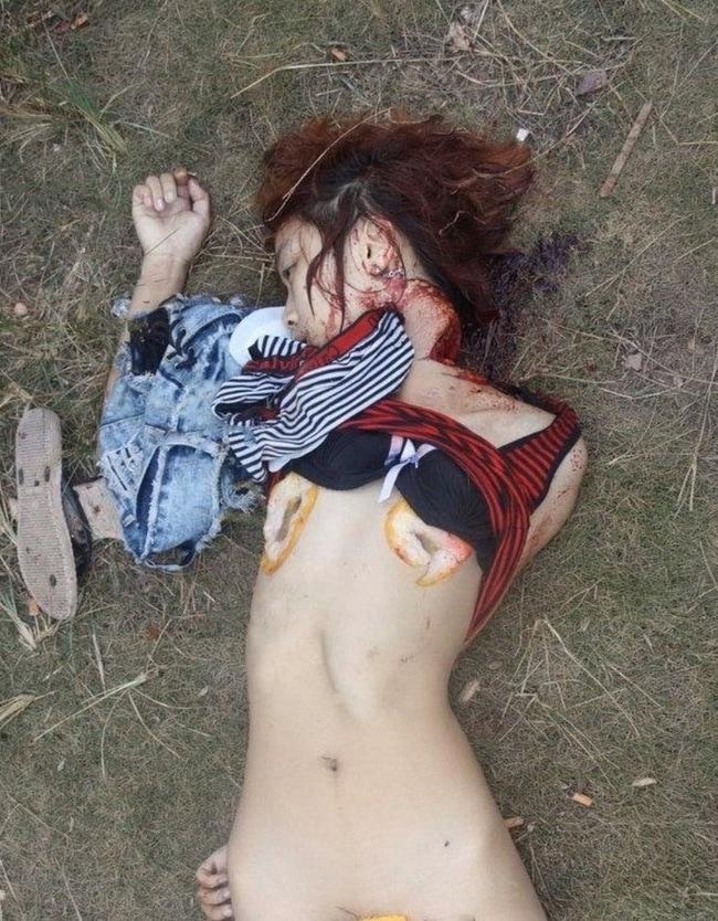 【閲覧注意】中国行方不明になった美少女、おっぱいとマンコが切除されたレイプ遺体となって発見される・・・・・(画像)・3枚目