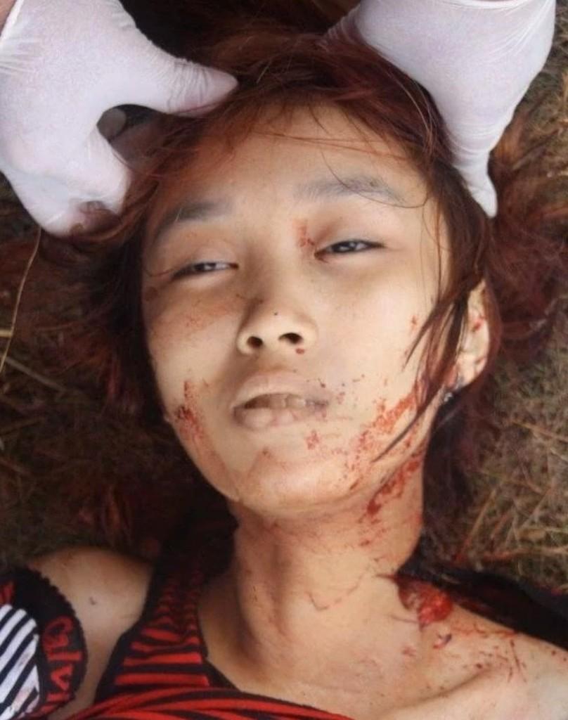 【閲覧注意】中国行方不明になった美少女、おっぱいとマンコが切除されたレイプ遺体となって発見される・・・・・(画像)・5枚目