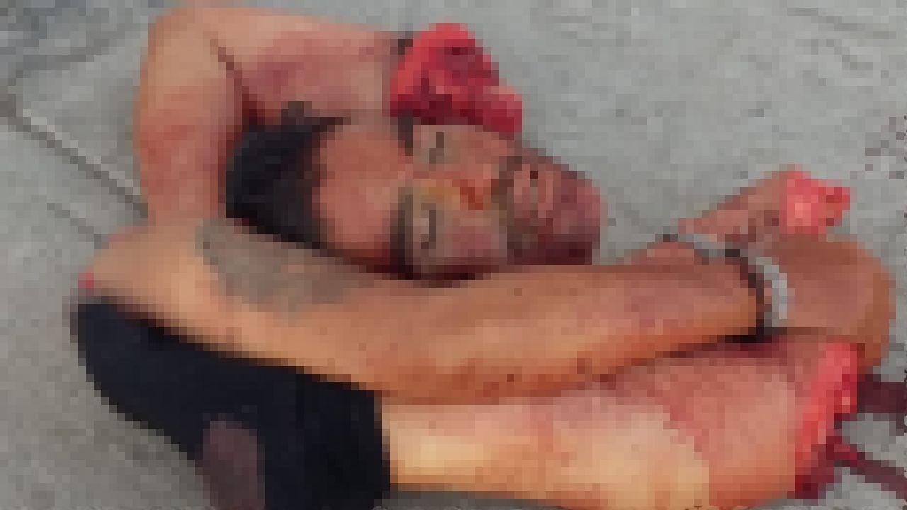 【グロ注意】メキシコの街角で早朝発見されたコレ、見つけた奴トラウマだろ・・・・・(画像)・2枚目