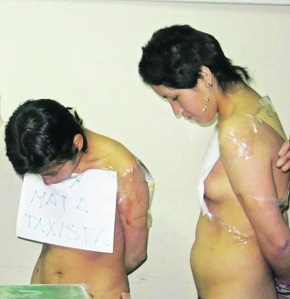 【美人局強盗】タクシー強盗しようと裸で街を歩いたペルーの少女、当然普通に逮捕される・・・・(画像)・1枚目