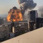 【衝撃映像】先月レバノンの爆発事故、爆心地から850m地上13階のテラスから撮影された4K映像が凄い!!(動画)