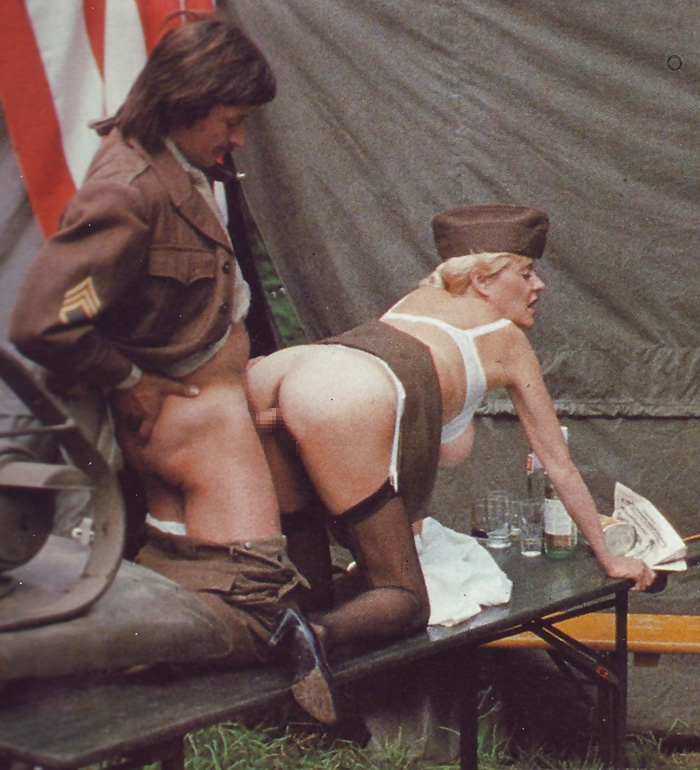 【ソルジャーエロ】戦場に派兵されてる女性兵士さん、ついハメを外してしまった画像がこちら・・・・(画像)・6枚目