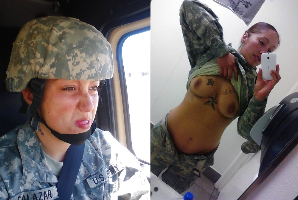 【ソルジャーエロ】戦場に派兵されてる女性兵士さん、ついハメを外してしまった画像がこちら・・・・(画像)・12枚目