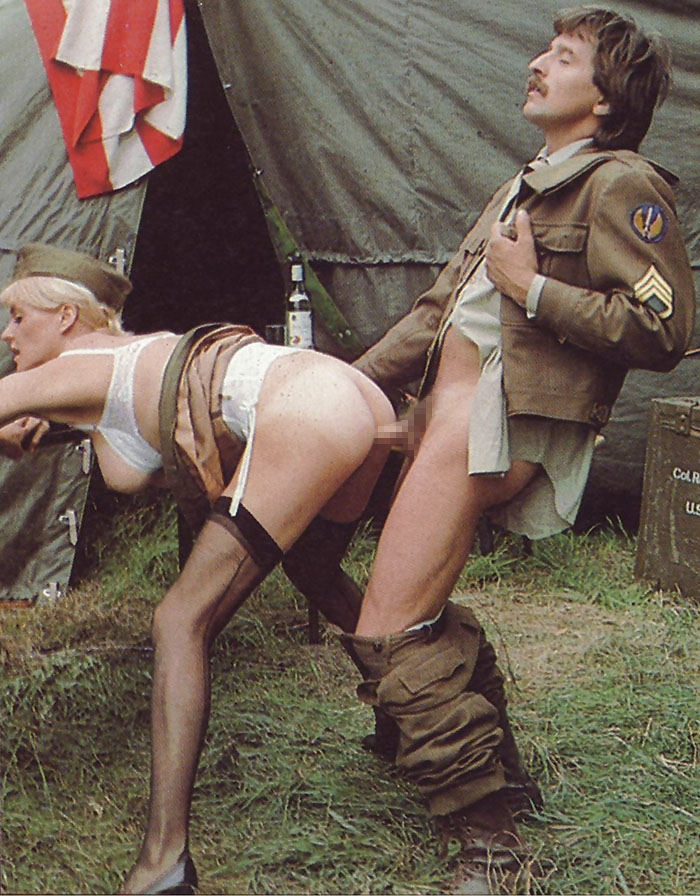 【ソルジャーエロ】戦場に派兵されてる女性兵士さん、ついハメを外してしまった画像がこちら・・・・(画像)・29枚目