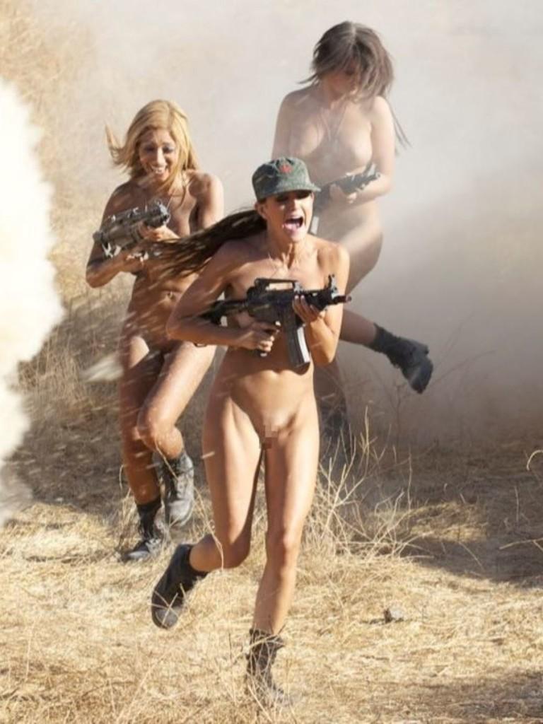 【ソルジャーエロ】戦場に派兵されてる女性兵士さん、ついハメを外してしまった画像がこちら・・・・(画像)・66枚目