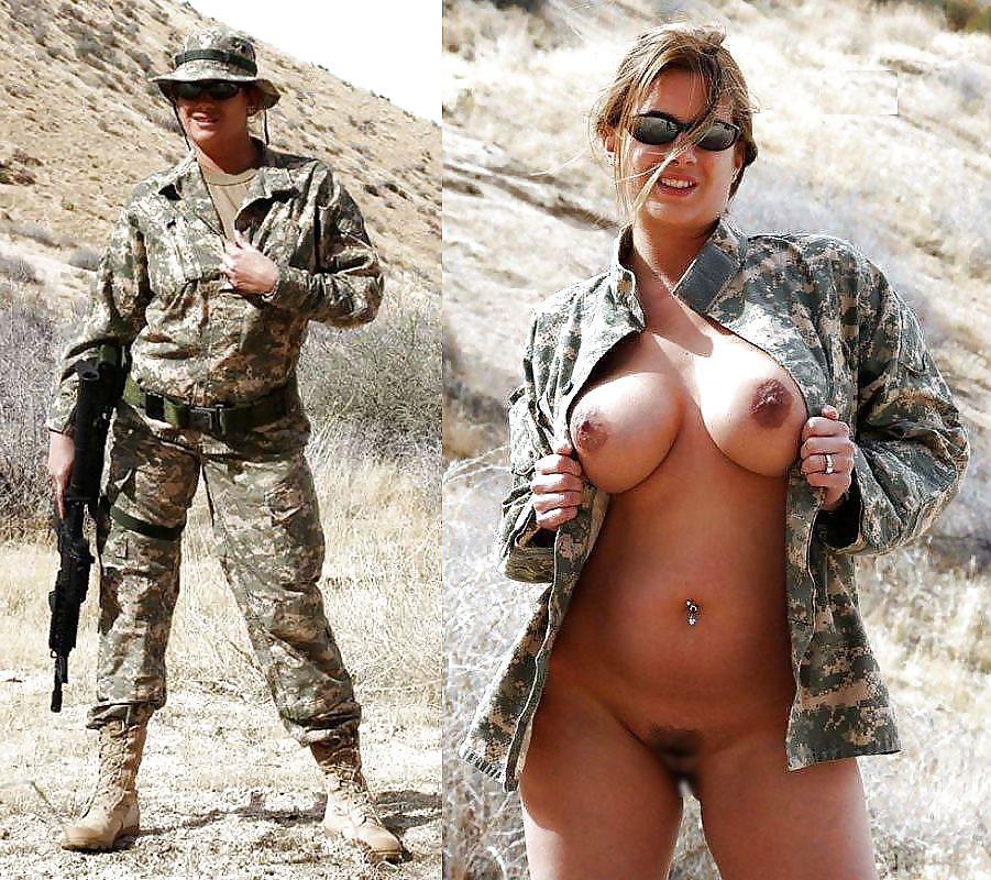 【ソルジャーエロ】戦場に派兵されてる女性兵士さん、ついハメを外してしまった画像がこちら・・・・(画像)・77枚目