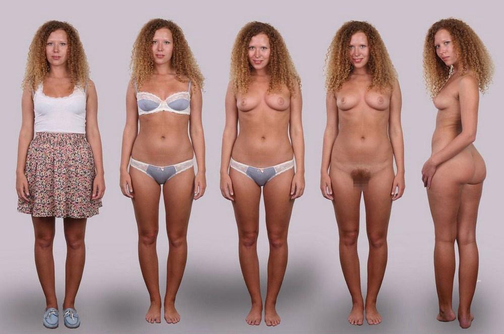 【素人ヌード】最近日本でも海外でも流行ってる素人ネキの着衣ヌード比較画像、これマジで超ヌケる!!(画像)・6枚目