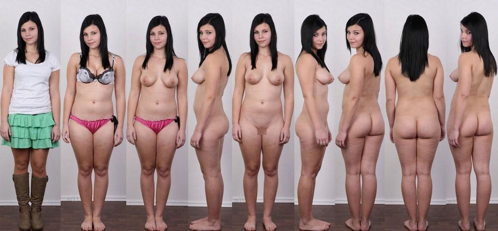 【素人ヌード】最近日本でも海外でも流行ってる素人ネキの着衣ヌード比較画像、これマジで超ヌケる!!(画像)・12枚目