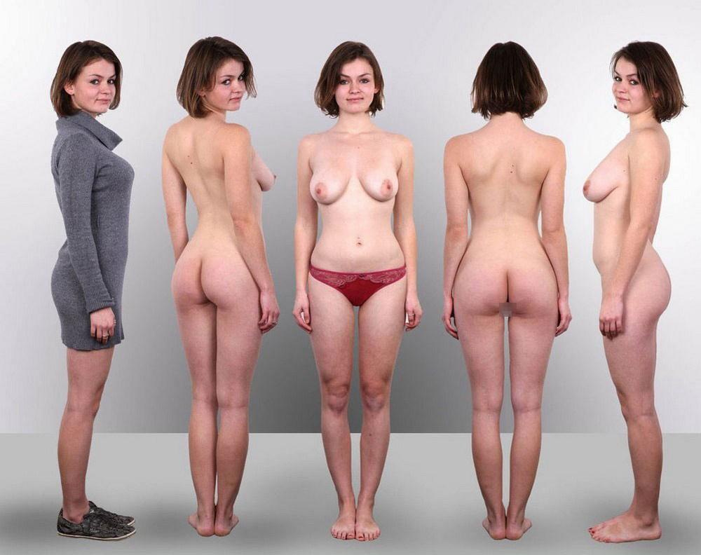 【素人ヌード】最近日本でも海外でも流行ってる素人ネキの着衣ヌード比較画像、これマジで超ヌケる!!(画像)・15枚目