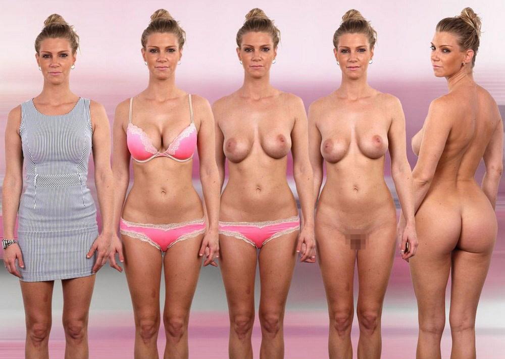 【素人ヌード】最近日本でも海外でも流行ってる素人ネキの着衣ヌード比較画像、これマジで超ヌケる!!(画像)・16枚目