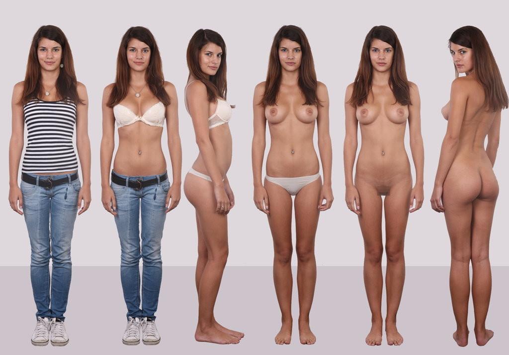 【素人ヌード】最近日本でも海外でも流行ってる素人ネキの着衣ヌード比較画像、これマジで超ヌケる!!(画像)・17枚目