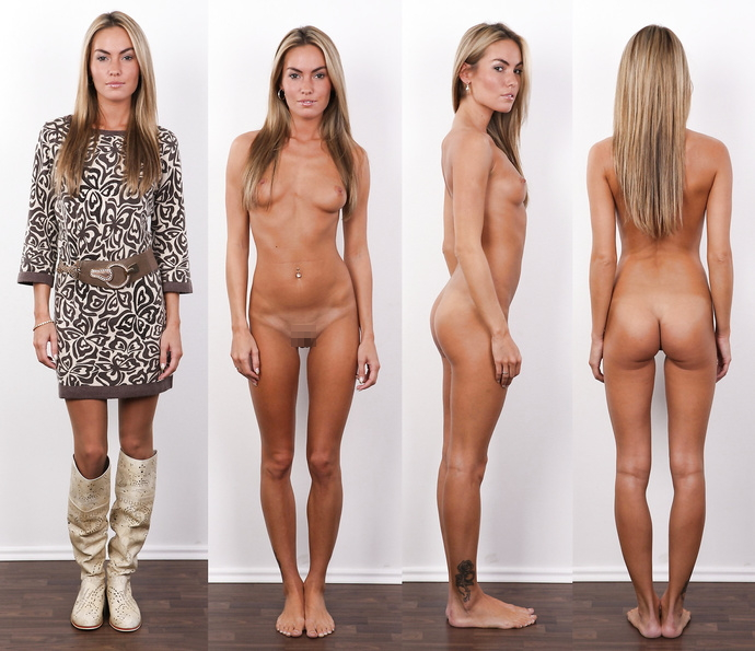 【素人ヌード】最近日本でも海外でも流行ってる素人ネキの着衣ヌード比較画像、これマジで超ヌケる!!(画像)・18枚目