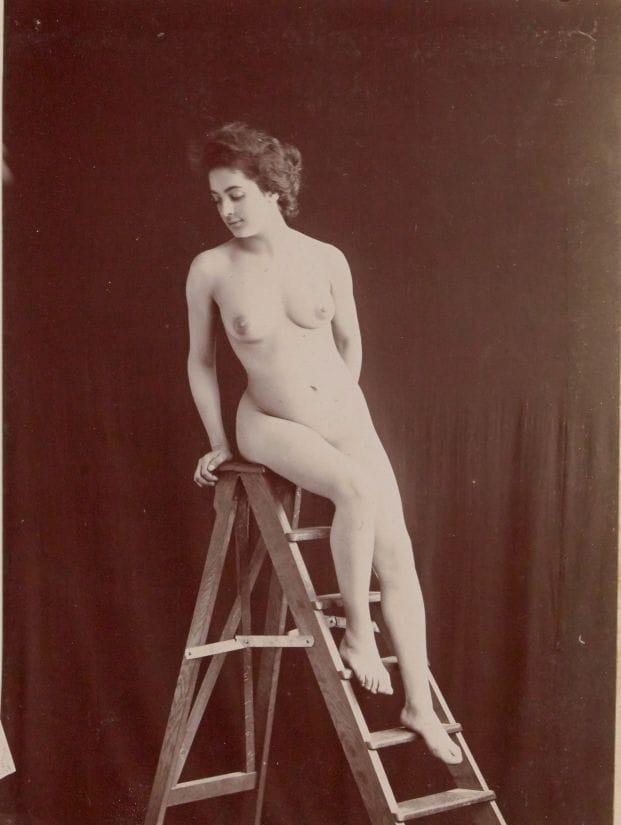 【禁酒法時代ヌード】今からおよそ100年前20世紀初頭に撮影された婦女子のヌード画像、正直これなら余裕でイケるwwwwww(画像あり)・3枚目