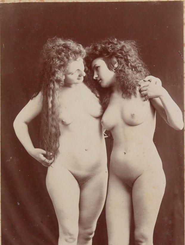 【禁酒法時代ヌード】今からおよそ100年前20世紀初頭に撮影された婦女子のヌード画像、正直これなら余裕でイケるwwwwww(画像あり)・6枚目