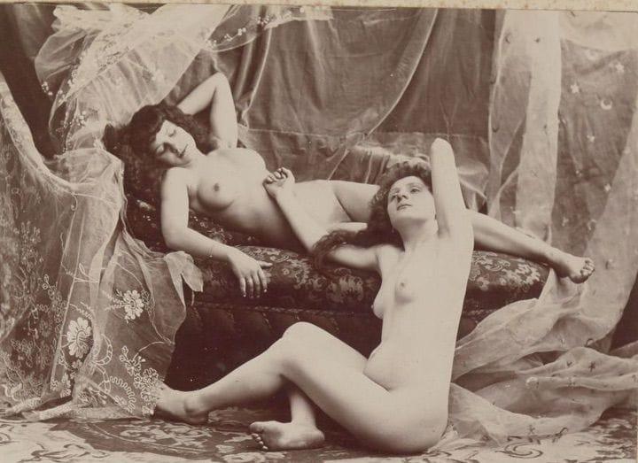 【禁酒法時代ヌード】今からおよそ100年前20世紀初頭に撮影された婦女子のヌード画像、正直これなら余裕でイケるwwwwww(画像あり)・11枚目