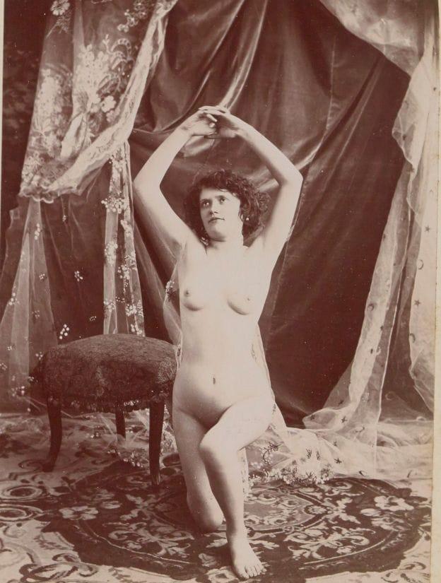 【禁酒法時代ヌード】今からおよそ100年前20世紀初頭に撮影された婦女子のヌード画像、正直これなら余裕でイケるwwwwww(画像あり)・18枚目