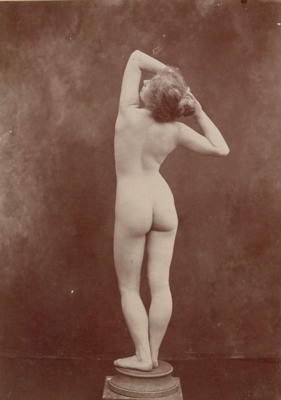 【禁酒法時代ヌード】今からおよそ100年前20世紀初頭に撮影された婦女子のヌード画像、正直これなら余裕でイケるwwwwww(画像あり)・19枚目