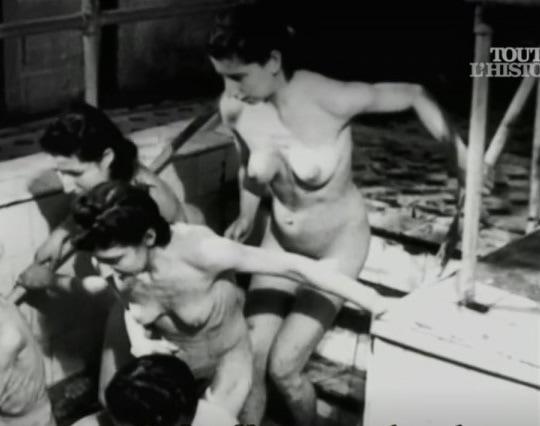 【戦争陵辱エロ】第二次大戦中にドイツ軍によって辱められた連合国側市民女性、日本は島国でホント良かった・・・・(画像)・1枚目