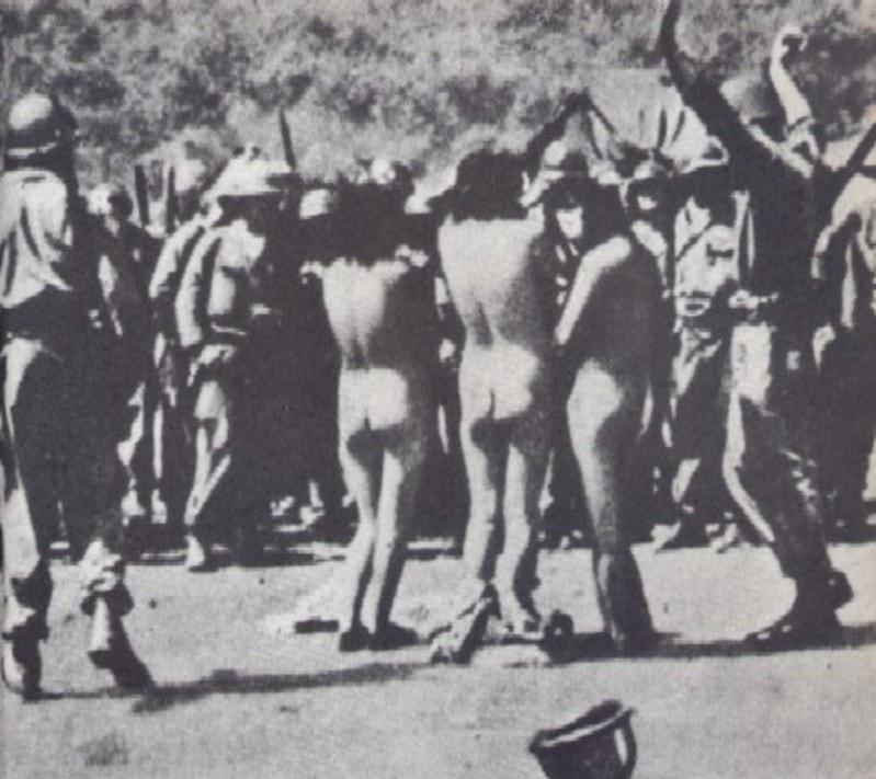 【戦争陵辱エロ】第二次大戦中にドイツ軍によって辱められた連合国側市民女性、日本は島国でホント良かった・・・・(画像)・2枚目
