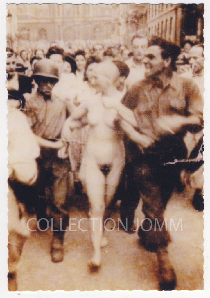 【戦争陵辱エロ】第二次大戦中にドイツ軍によって辱められた連合国側市民女性、日本は島国でホント良かった・・・・(画像)・13枚目