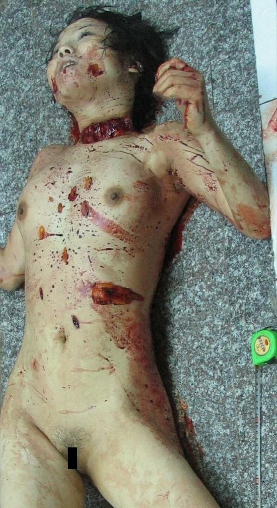 【グロ注意】中国で起こった連続猟奇殺人事件、滅多刺しにされた売春婦の画像がヤバ過ぎる!!(画像あり)・3枚目