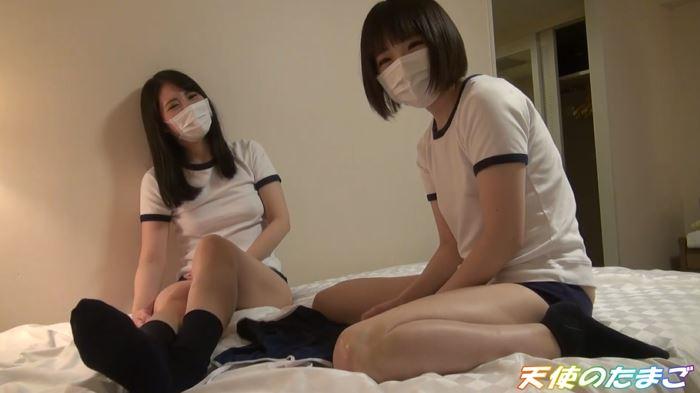 【エロ動画】2人の女子学生、まとめてハメ撮りする猛者が動画を販売するwwwww・15枚目