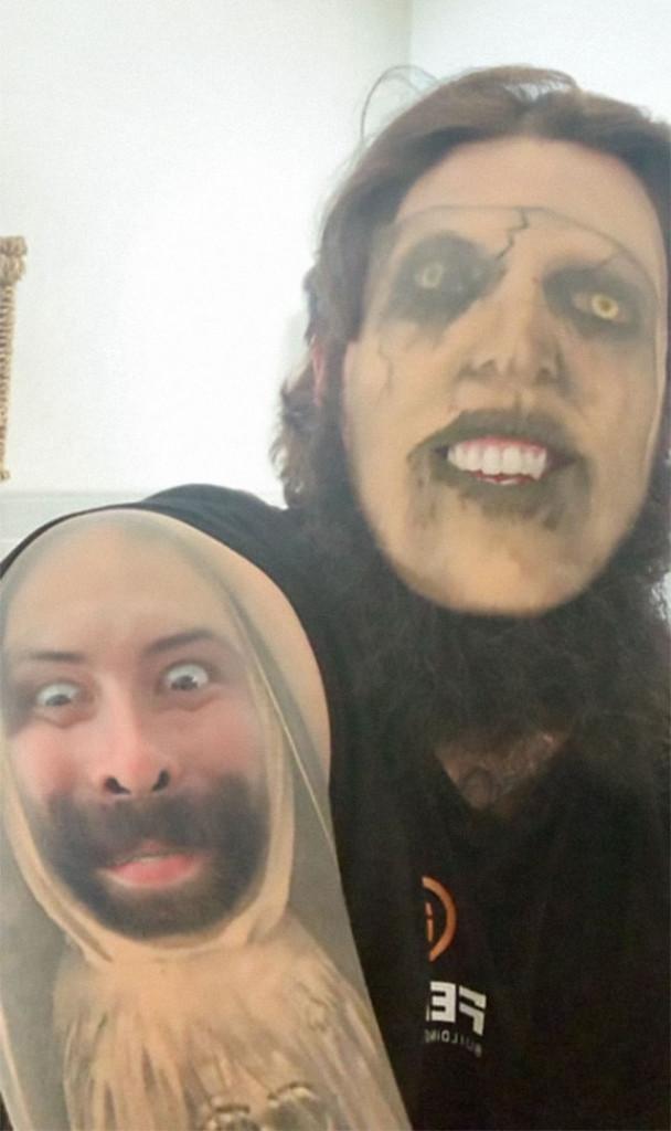 【楽しそうwww】顔入れ替えアプリを使って自分のタトゥーと顔面を入れ替える陽キャ外国人wwwwww(画像あり)・6枚目