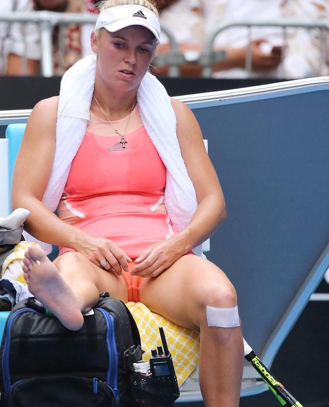 【ほぼ露出狂】トップ女子テニスプレイヤー、色々とエロ過ぎるwwwwww(画像あり)・18枚目