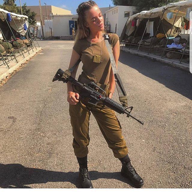 【美人ソルジャー】世界最高レベルな美人兵士が集うイスラエル国軍、これはリアル美人過ぎるソルジャーだろwwwww(画像)・6枚目