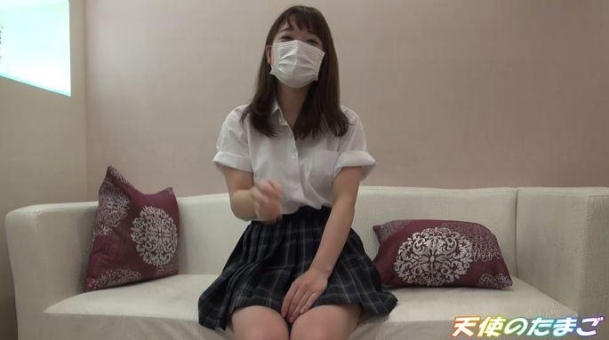 【真面目系JK】生まれて初めて電マを使われた女子高生、パンツにでっかいシミを作ってしまう!!!・1枚目